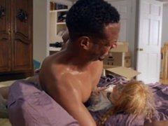 Black man violates doll