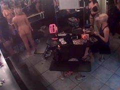 Strip club dressing room camera. Miranda LIVE on 720cams.com