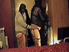 sissy boyfriend gagged blinfolded and anal abused