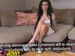 FakeAgentUK Petite UK babe tries first time anal on the casting couch