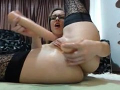 Angela anal and pussy squirt for cam. Carolin from DATES25.COM