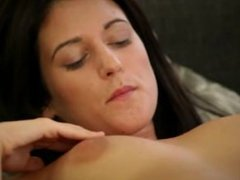 breasty brunette and dogystyle fingering