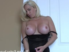Swallow your cum for your horny neighbor JOI