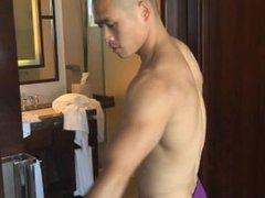 Asian Male Model Masturbating - David