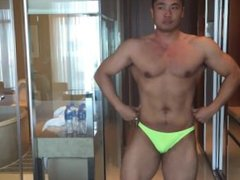 Asian Male Model Masturbating - Tony