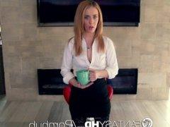 FantasyHD - Anal Job interview for secretary Bonnie Grey