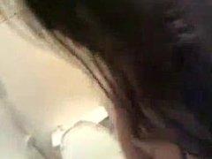 hot desi slut exposed her boobs & pussy in bathroom (hindi audio)