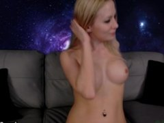 MFC *L@ceyBl@ck* SEXY Blonde Cam Black Panties Part 1