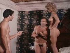 Amber Lynn fucked twice in classic scene