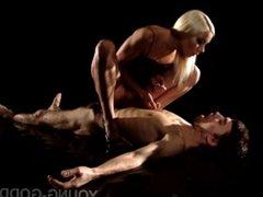 Teen Mistress makes Slave worship her Heels, Spits and Slaps him (Femdom)