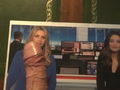 Sky sports Olivia and Hailey get cummed on