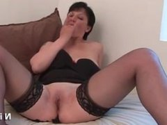 Kelle from DATES25.COM - Casting amateur french milf hard analized