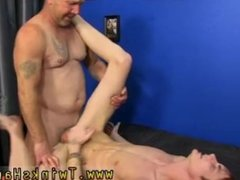 Old dicks squirting cum movies gay Hippie boy Preston Andrews can't help