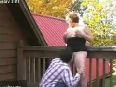Son fucked by mother in law
