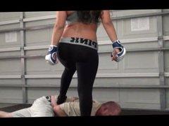 Brutal Teen Babe Beatdown & Chokeout
