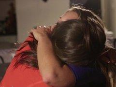Abella & Jessie Lesbian Tribbing
