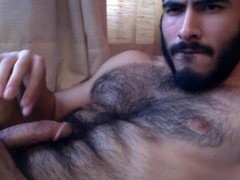 full hairy young man cum in mouth