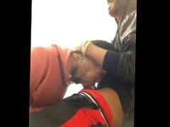 Black Dude Gives Head to His Friend, Swallows Cum