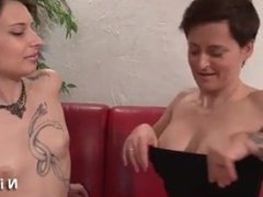 Milagro from DATES25.COM - Casting of a stunning small titted french slut analized
