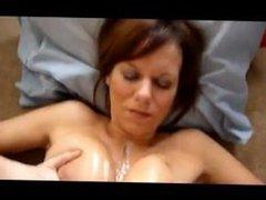 Cythia from DATES25.COM - Big mature milf natural tits boobs cumshot