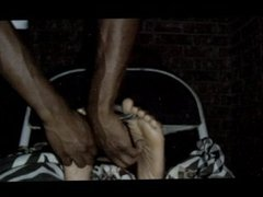 Ebony Soles Tickled