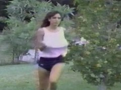 02 On Golden Blonde Christy Canyon jogs