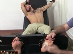 Gay male feet porn movie xxx Tino is highly