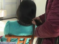 My brother's hairjob-video 034