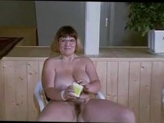Cameron from DATES25.COM - Hairy mature strips and toys for you
