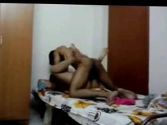 Sexy Indian Girlfriend with Lover enjoying sex