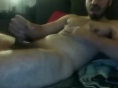 str8 guy tricked into webcam sex - jerome 26 cums EVERYWHERE