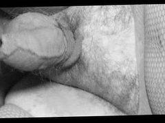crossdresser tranny sounding urethral cock lingerie nylon