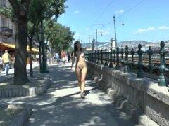 Aiko - NIP Activity girl having fun Nude in Public