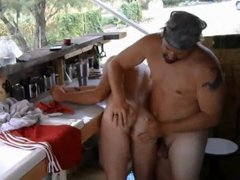 Master enjoying and getting serviced by his boy