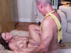 Old asian granny Ivy impresses with her immense bra-stuffers and ass