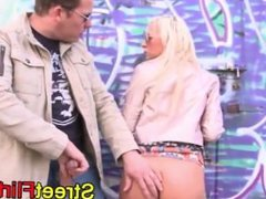 Blonde hippy girl outdoor fucking. Ivelisse from DATES25.COM