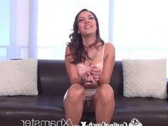 Castingcouch x hot latina sophia grace gets fucked. Kiersten from DATES25.COM