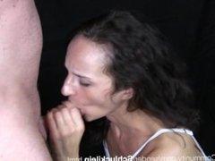 Deep Throat with German MILF