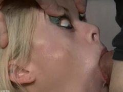 Nadia White super extreme rough facefuck - part 1