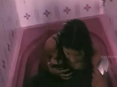Desi Bhabhi Huge Sexy Cleavages The Bathroom Shower With Wet Body
