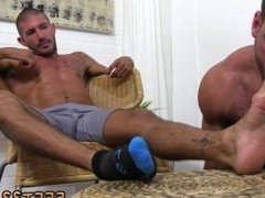 Hairy leg men gay blow jobs  and free