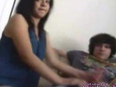 Homemade Indian Desi Couple Fucking Hard On Webcam