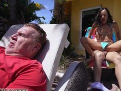 Fakeagent first anal Holly Hendrix Has Some Fun With Her Dad's Friend