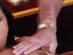 Old pussy fucked hd first time Staycation with a Latin Hottie