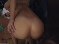 Arab couple fuck xxx Hungry Woman Gets Food and Fuck