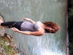 cute river girl