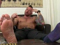 Small gay sex sperm 3gp Hugh Hunter Worshiped Until He Cums