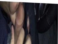 Sexyman8086 cuming on wife's panties