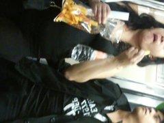 Panocha en el metro