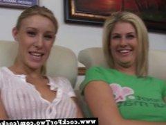 Allison Pierce vs. Faythe Deluca - Cock For Two